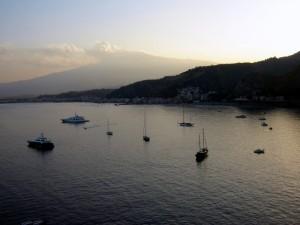 La sera di ferragosto s'avvicina…a Taormina