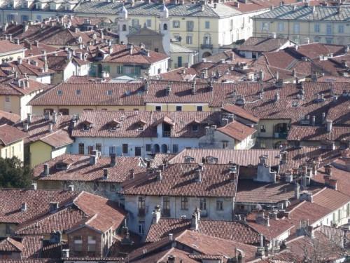 Pinerolo - La città vista dall'alto