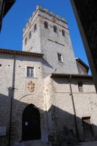 La torre di Castel Brancaccio