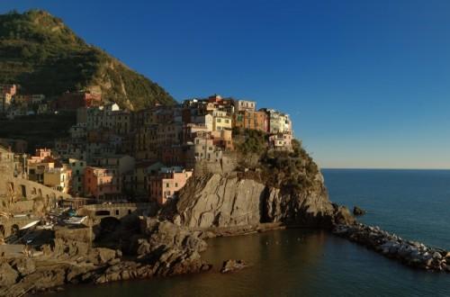 """Riomaggiore - Manarola - """"un caldo scorcio...."""""""
