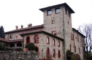 Il castello di Casiglio d'inverno