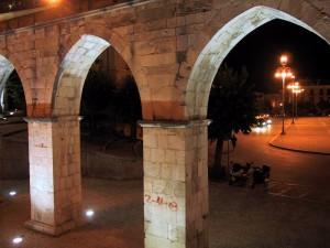 La piazza di Sulmona…in luce