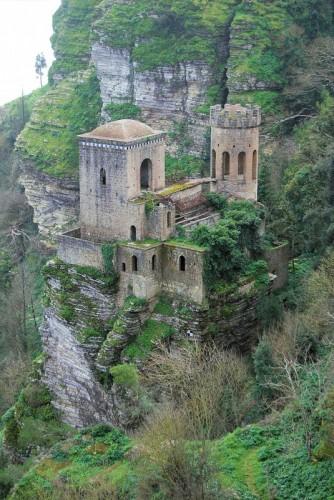 """Erice - """"la torretta del castello di pepoli"""""""