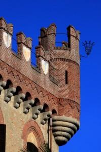 Torre con partafiori