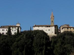 Pamorama del Centro storico di Laterina