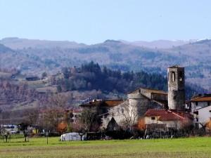 il borgo storico di Pieve a Socana