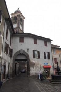Porta ingresso al centro storico.