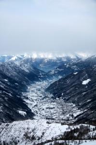 Panorama invernale da Valtorta
