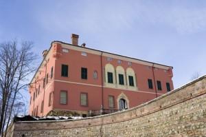 Il castello di Pasturana, facciata.