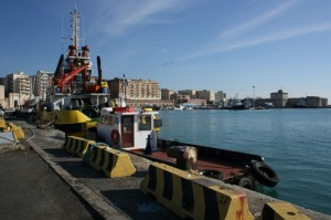 la città vista dal porto