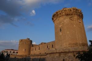 Tramonto sul castello