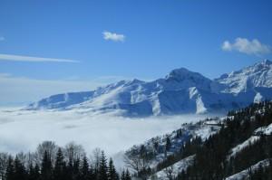 la nebbia vista da Bielmonte