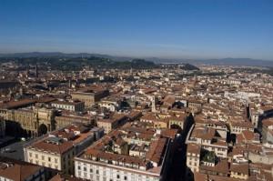 Panorama dalla cupola del Duomo