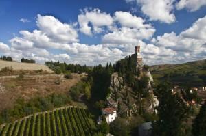 la Rocca tra le nuvole di Brisighella