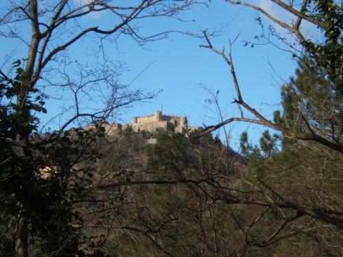 Genova - Le mura di Genova. Il forte Sperone