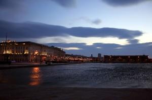 Rive Triestine al tramonto