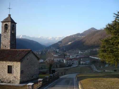 San Pietro Mussolino - landscape of the valley