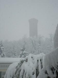 Torre nella tempesta