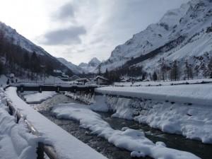 Neve in Val di Rhemes