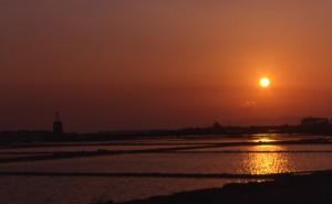 Le saline di Mozia al tramonto 2