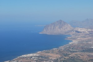 Panorama sul monte Cofano