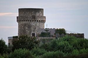 non è di color viola la Torre Viola  a Gaeta