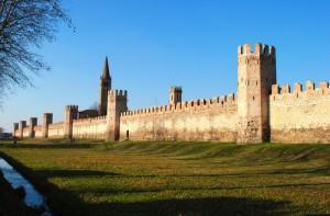 Città Murata Medioevale. - Le mura a Sud