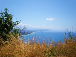 NICOTERA - Panorama tra gramigna e ulivi