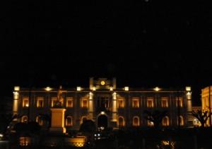REGGIO CALABRIA - Piazza Italia by night