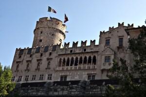 Il castello del Buonconsiglio.