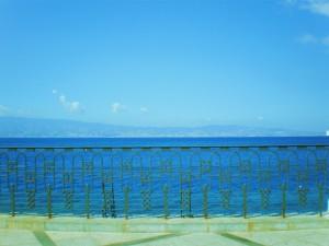REGGIO CALABRIA - La balconata sullo Stretto da via Marina
