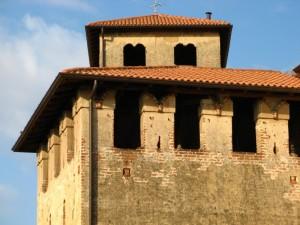 Il castello di Bellusco - Particolare