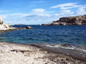 santa Panagia il mare il pescatore e la petroliera