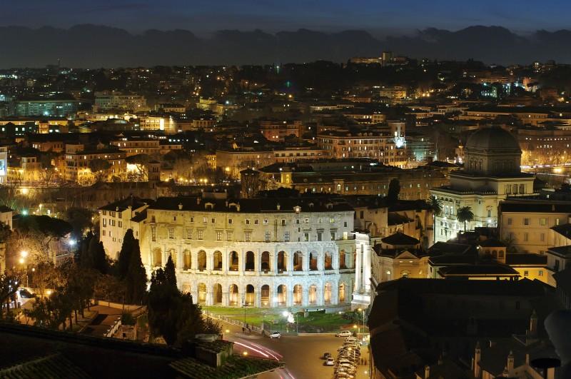 ''Notturno dall'Altare della Patria 2'' - Roma