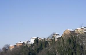 Profilo di Podigliano, frazione di Sant'Agata Fossili.