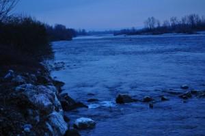 l'ansa del fiume Brenta a Nove