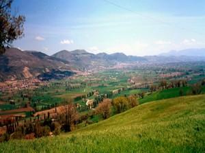 panorama su Umbertide