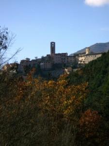 La valle di Cerreto.