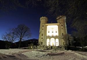 Serata gelida….al Castello di Aymavilles