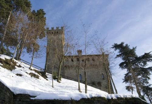 Trisobbio - Il castello di Trisobbio e il parco.