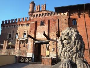 Castello con leone