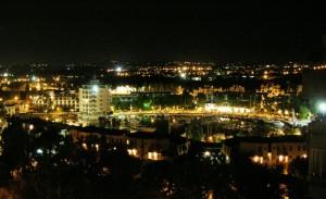 Portoverde di notte