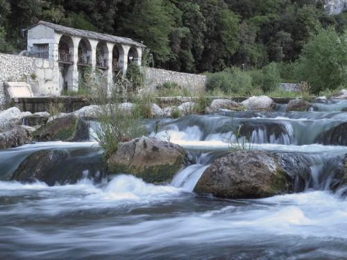 Arco - scorcio del fiume sarca