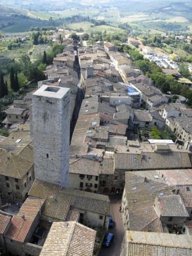 San Gimignano - s gimignano dall'alto