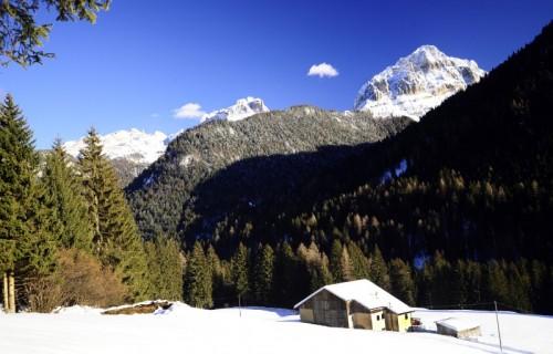 Pinzolo - La località Cavrados di S. Antonio di Mavignola nel comune di Pinzolo