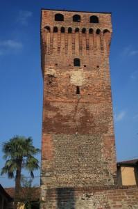 Torre del castello di Balocco