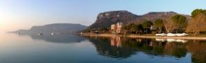 Panoramica della Rocca di Garda