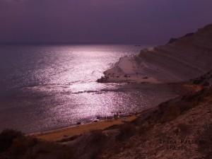 magico tramonto nell'incantata Sicilia