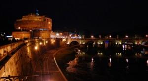 vista su Castel Sant'Angelo