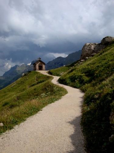 Canazei - dal Passo Pordoi al Sass Becè